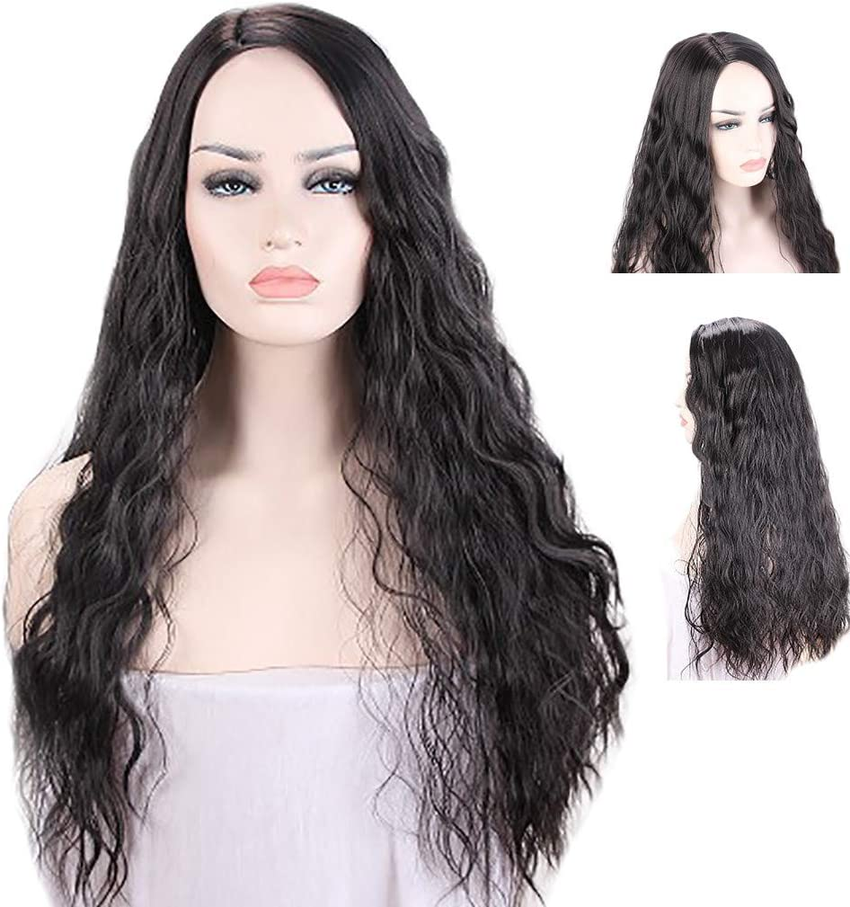 Peluca natural mujer angelof Mode Hair sin POUX Cosplay Disco ...