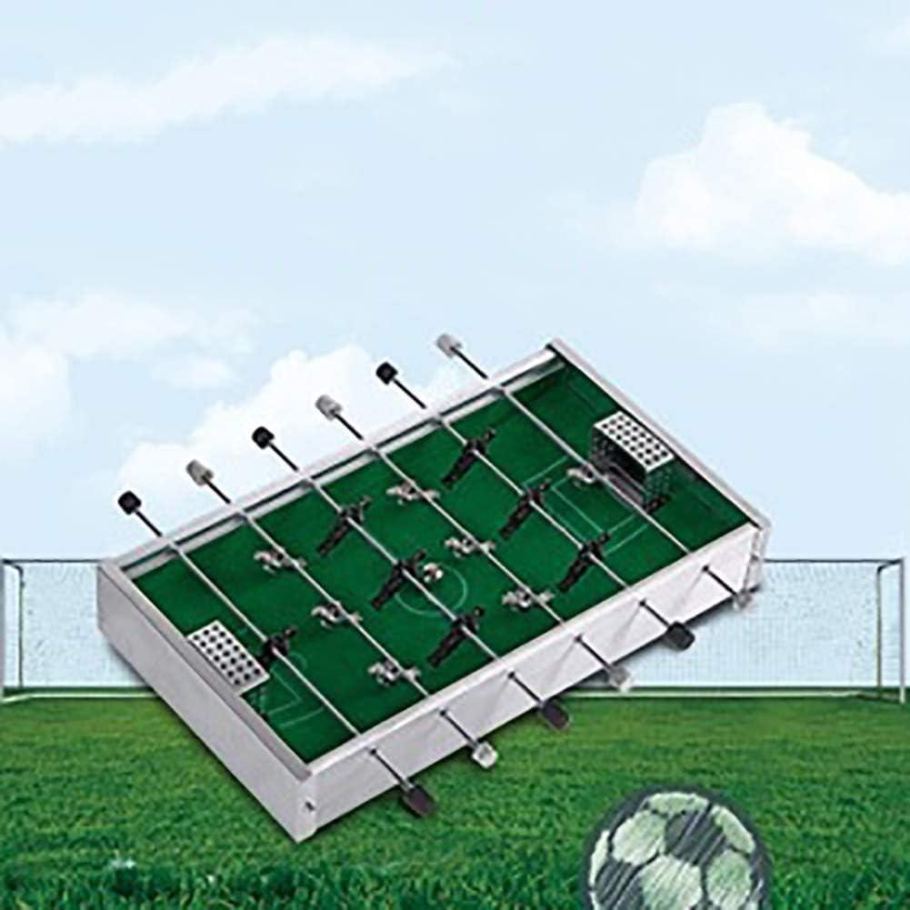 TRPYA Mini Mesa de Aluminio Partido de fútbol de Mesa Fútbol ...
