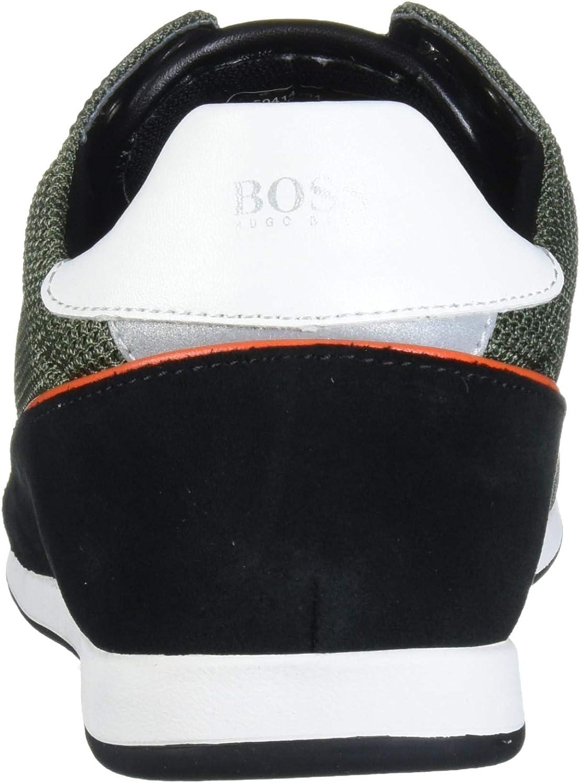 Hugo Boss Mens Akeen Suede Sneaker