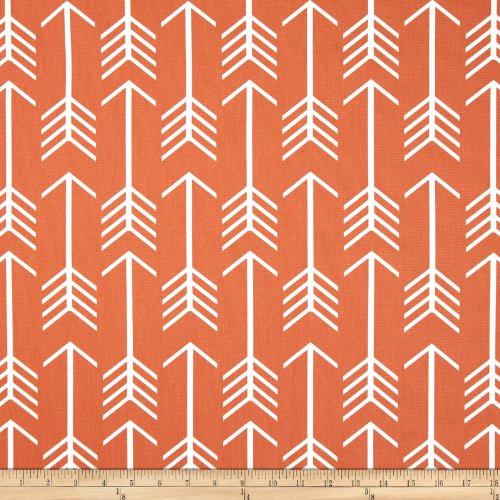 upholstery fabric orange - 1