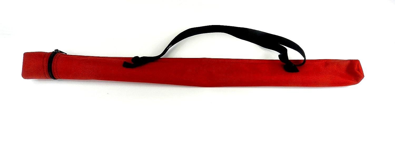 Twirling Baton Bag Case with Shoulder Strap Red