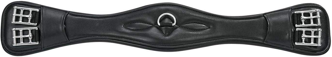 65 65 cm schwarz Sattelgurt TURIN-DR