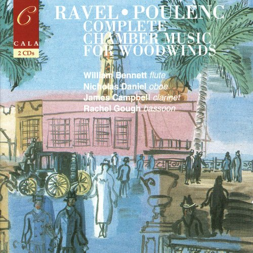 French chamber music for woodwinds volume two ravel for French chamber