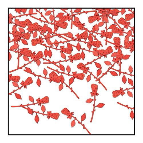 Beistle CN310 Roses Confetti, 0.5 oz, ()