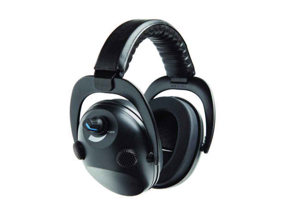 Lucid Audio Electronic Quad Earmuffs (24NRR Sound Protection and Enhancement)