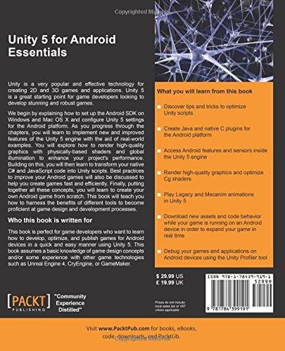 Unity 5 for Android Essentials: Valera Cogut: 9781784399191