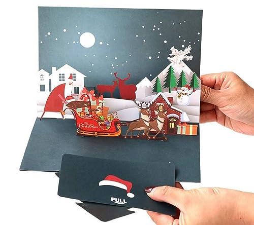 BC Worldwide Ltd hecho a mano 3D pop-up tarjeta de Navidad ...