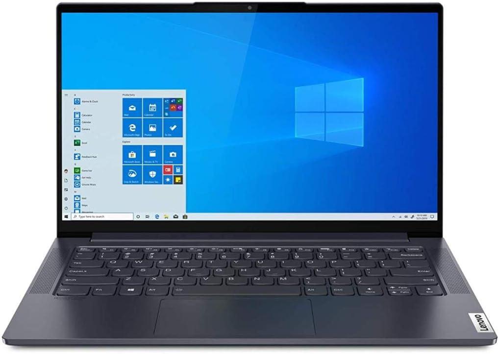 "Lenovo Yoga Slim 7 Notebook, Display 14"" Full Hd Ips, Processore Amd Ryzen 7 4700U, 1 Tb Ssd, Ram 16 Gb, Windows 10, Slate Grey"