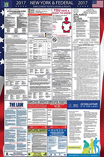 2017 New York and Federal All in One Labor Law Poster