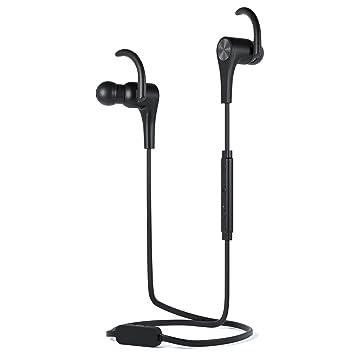 Symphonized Bluetooth inalámbrico y por cable auriculares | Hybrid – Auriculares in-ear con micrófono