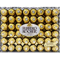 48-Count Ferrero Rocher Hazelnut Chocolates, 21.2 oz.