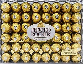 48-Count Ferrero Rocher Hazelnut Chocolates, 21.2 oz.