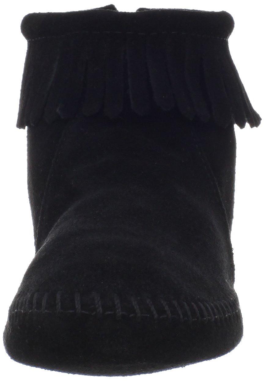 Minnetonka Back Back Back Zipper Stiefel 289, Damen Stiefel ebf39d