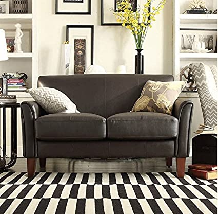 Amazon Com Used Sofas Couches Living Room Furniture >> Amazon Com A Modern Loveseat Sofa Chair Made From A Dark
