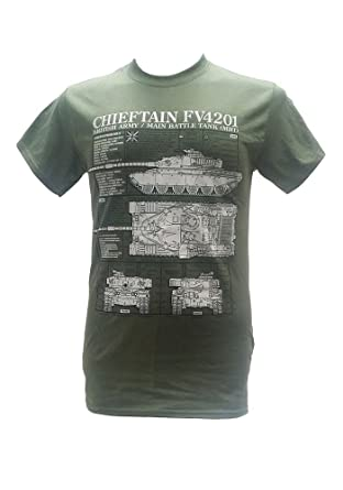 The wooden model company ltd chieftain british army tanks the wooden model company ltd chieftain british army tanks military t shirt with blueprint design malvernweather Images