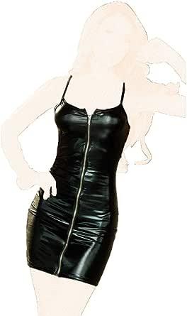 فستان سهرة قصير - نسيج فينيل، رقم اس 0855