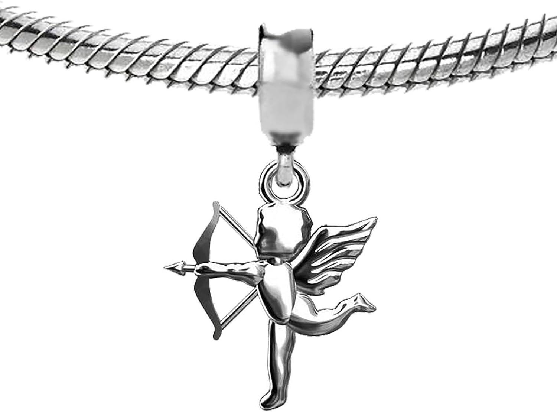 Argent sterling 925/Amour Cupidon Charm perle Compatible avec bracelet europ/éen Da7p