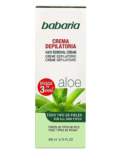Crema depilatoria babaria