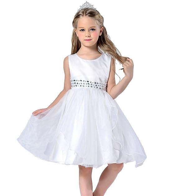 Lo mejor sin pulsera niña pequeño Vestidos de novia boda Vestidos Princesa