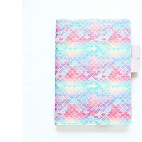 King Boutiques Cute Glitter Notebook Journal Cover for A6 A5 ...