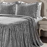 Lush Décor Ruffle Skirt Bedspread Blush Shabby
