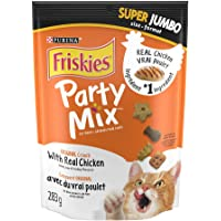 Purina Friskies Party Mix Cat Treats; Original Crunch - 283 g Pouch