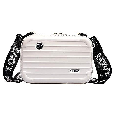 Original kaufen Rabatt New York Lophome Damen-Tasche, praktische Handtasche, Koffer, Handgelenk,  Umhängetasche, Aufbewahrungsbox, Kosmetikkoffer weiß