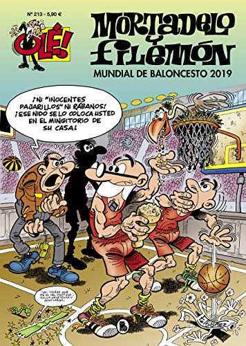 Mundial de baloncesto 2019. Mortadelo y Filemón