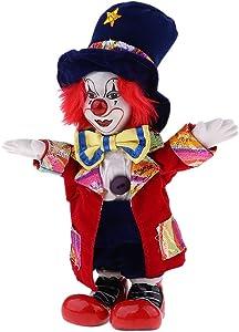 KODORIA Clown Doll Clown Figure Doll Halloween Ornaments Home Table Desk Top Decor - #5