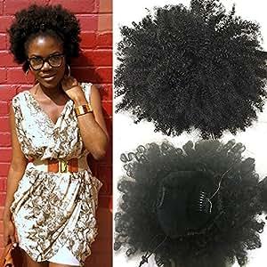 Amazon Com Klaiyi Fashion Natural Ponytail African