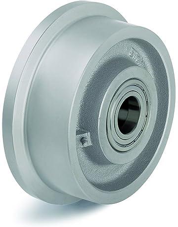 Amazon com: Flanged Track Wheels - Material Handling