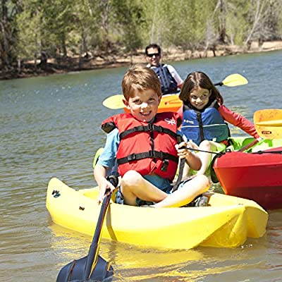 90100 Lifetime 6 Foot Yellow Youth Kayak from Lifetime OUTDOORS