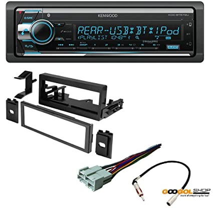Amazon.com: Kenwood KDC-BT572U Double Din Radio Install Kit ... on double din bracket, double din trim ring, double din radio, double din cover, double din dash panel,