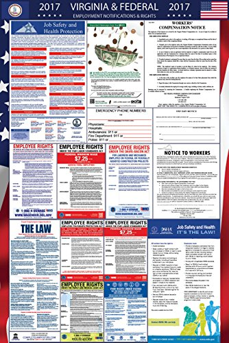 2017 Virginia and Federal Labor Law Poster