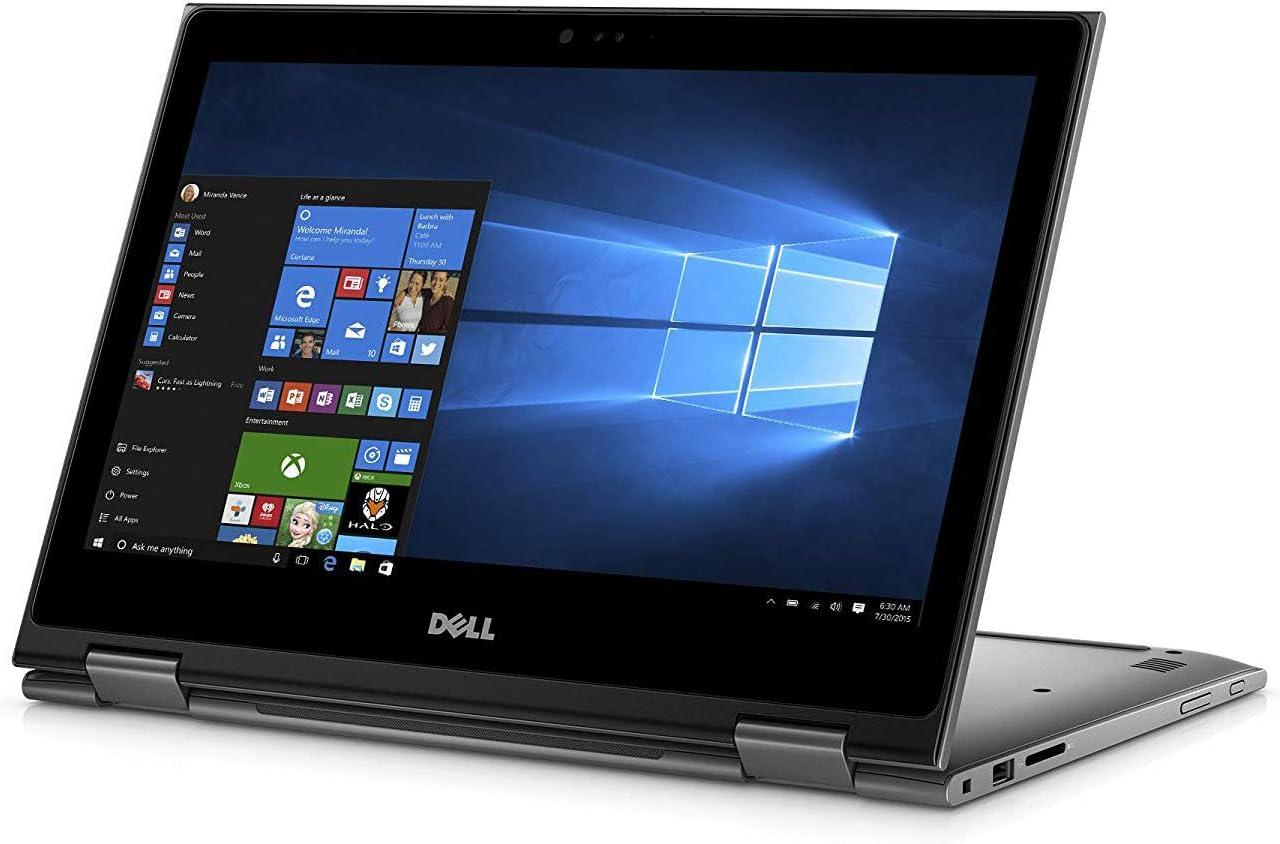 Intel Core i3-7100U 2.40 GHz, 8GB DDR4 RAM, 256GB SSD, Bluetooth, WiFi, Windows 10, Grey Renewed DELL 2020 Inspiron 13 5000 i5387 13.3 Inch Touchscreen 2-in-1 Laptop