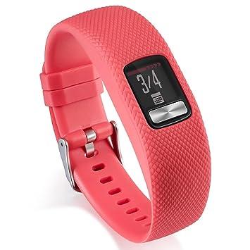 LOKEKE Garmin Vivofit 4 - Correa de repuesto para reloj inteligente Garmin Vivofit 4, tamaño