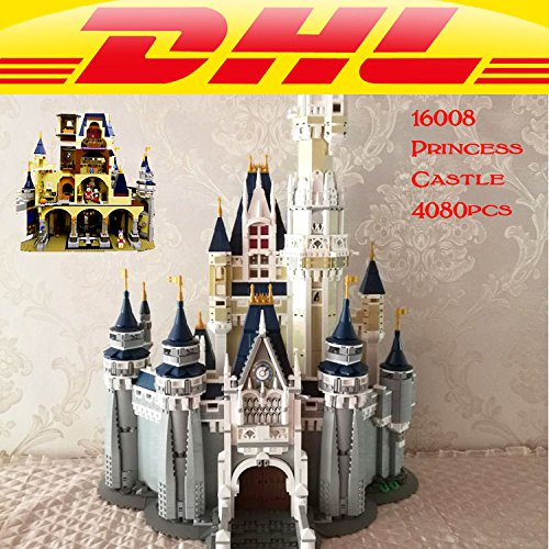 NEW 16008 Cinderella Princess Castle Model Building Kits Block Bricks Toys Set Building Blocks Bricks 71040