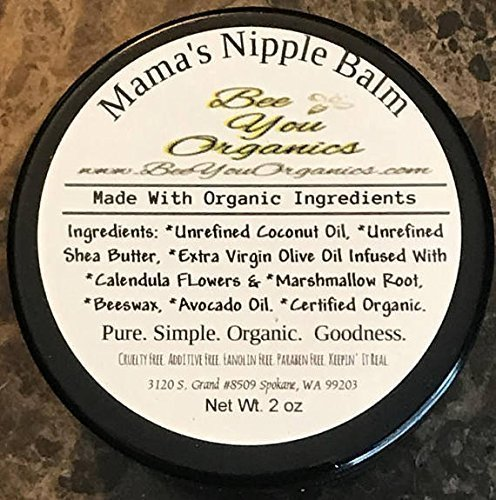 Organic Nipple Balm for Breastfeeding Moms