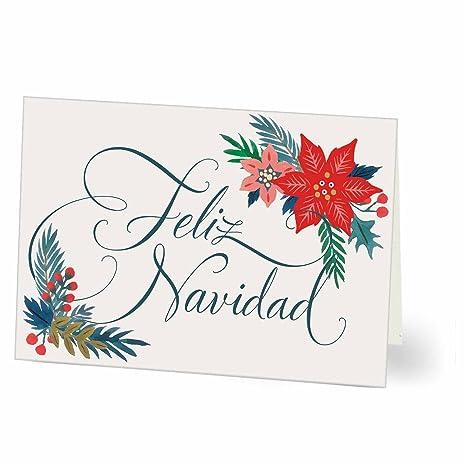 Amazon Spanish Hallmark Business Holiday Card For Customers Or