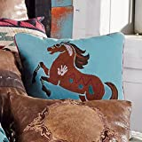 Black Forest Décor Southwest Expressions Horse Accent Pillow