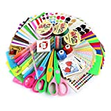 SiCoHome Scrapbooking Supplies,Scrapbook Kit for Teen Girls Scrapbooking and Card Making
