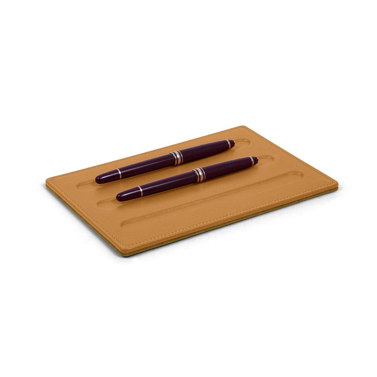 Lucrin - Ablage für Schreibgeräte-3 Stifte (20 x x x 14 cm) - Azurblau - Glattleder B00TZZRGDK | Online  92f3e9