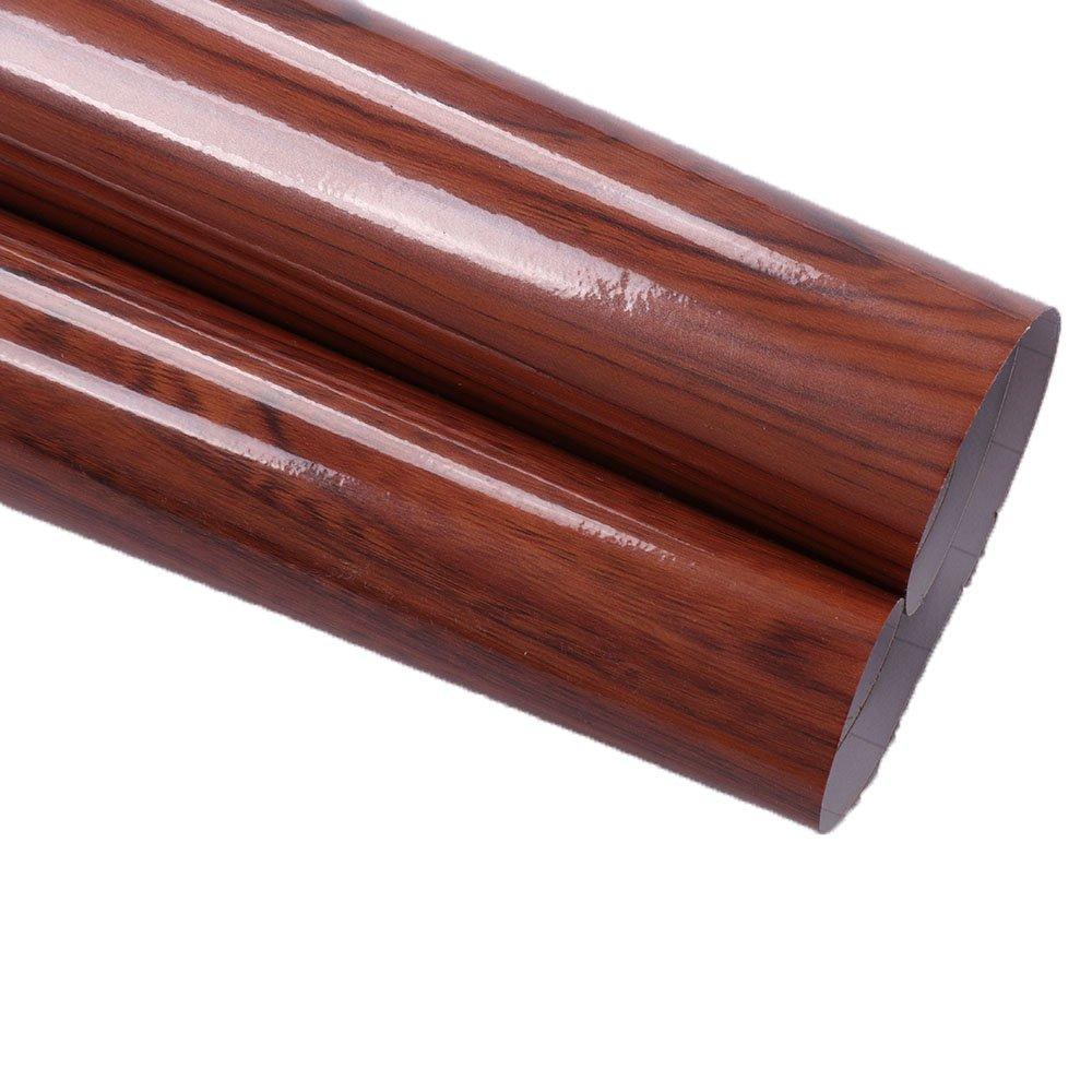 hoho 30 CMX300 CM hoho brillante adhesivo papel de contacto adhesivo decorativo madera coche interior exterior vinilo