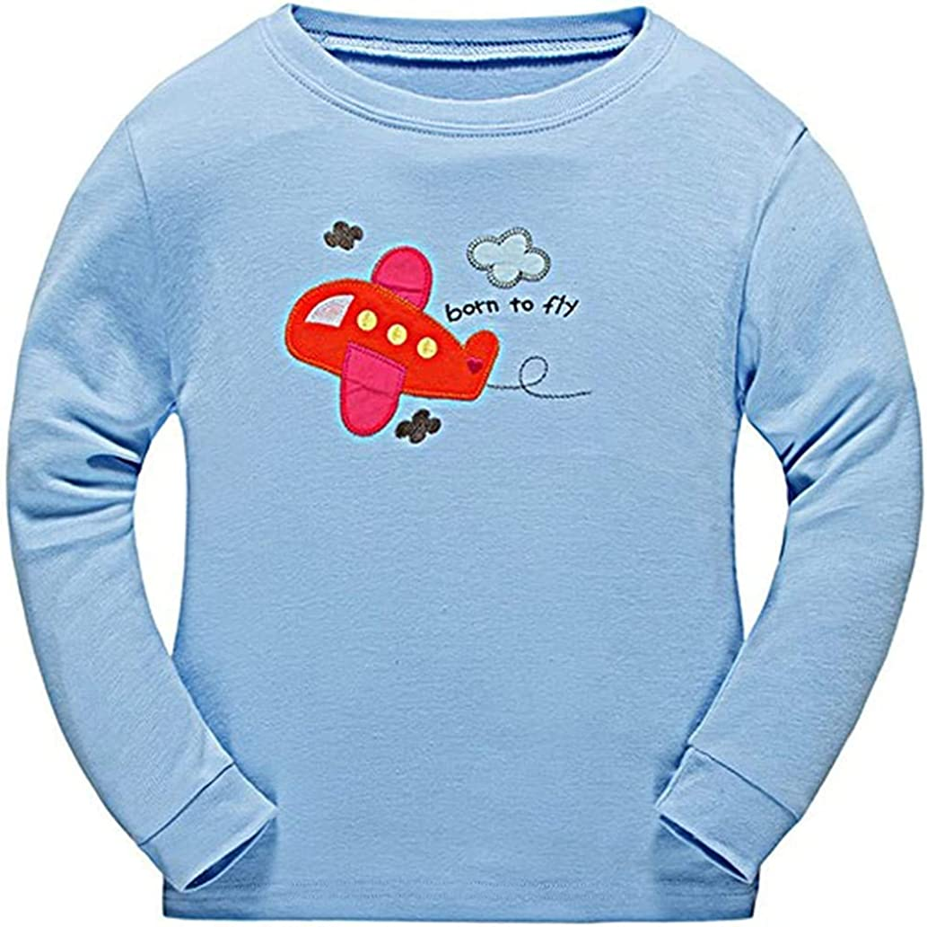 Babygp red Plane Boys 2 Piece Pajama 100/% Cotton Size:2-7years