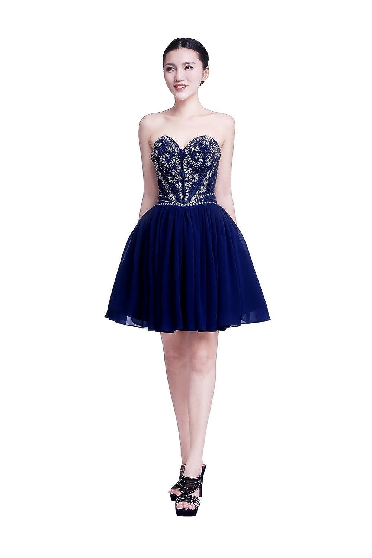YiYaDawn Women's Homecoming Dress Short Evening Gown