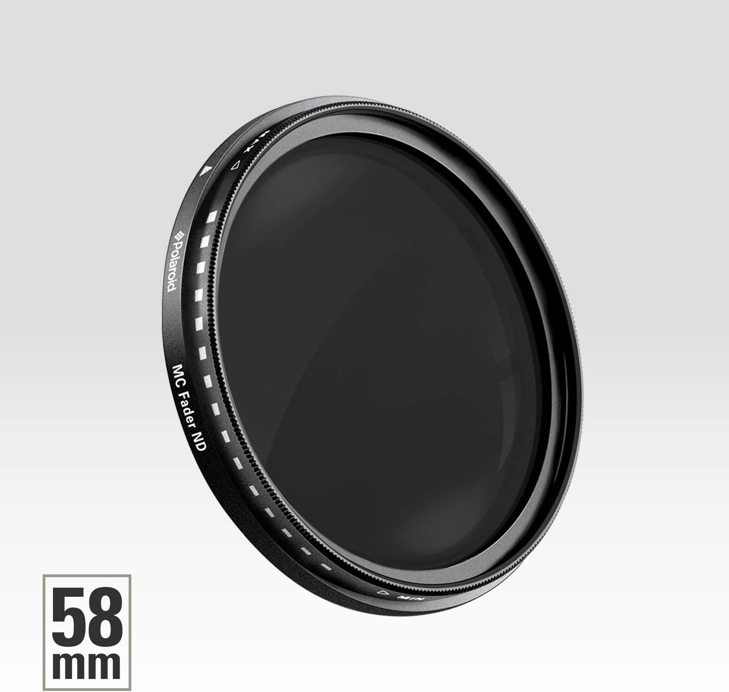 Superior Optical Quality Polaroid Optics 40.5mm Multi-Coated Neutral Density Fader Filter Compatible w// All Popular Camera Lens Models Variable Range ND2-ND2000