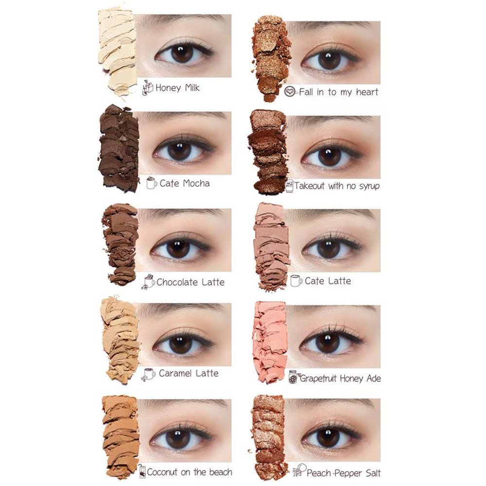 Etude House Play Color Eyes In The Cafe Limited Cherry Blossom Edition Beauty