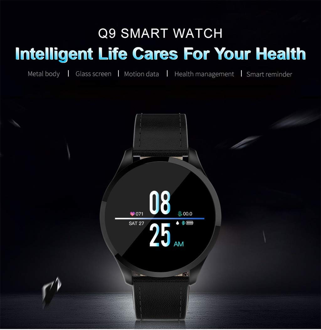 Amazon.com: Smart Watches, Easytoy Q9 Smartwatch 1.22inch ...