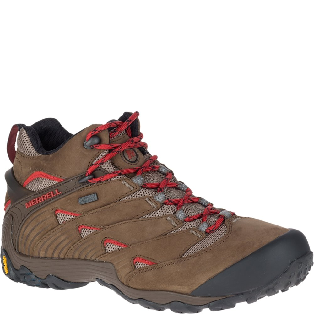 Merrell Men's Chameleon 7 Mid Waterproof Hiking Shoe J18491-9.5