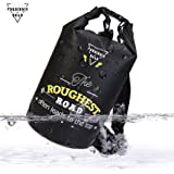 Forbidden Road 2L 5L 10L 15L 20L Waterproof Dry Bag (8 Colors) Dry Sack Roll Top Dry Compression Sack Keeps Gear Dry for Kayaking Boating Camping Canoeing Fishing Skiing Snowboarding